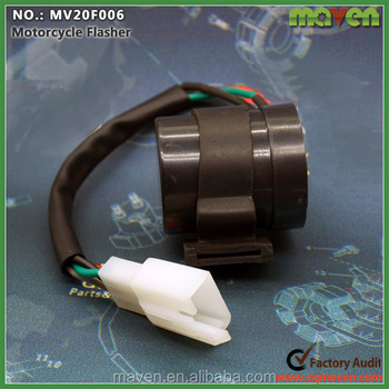 Electric Parts Gy6 Motorcycle Flasher Scooter Moped Turn