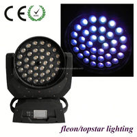 Cheap rgbw zoom 36x10w 4in1 led moving head wash light for sale