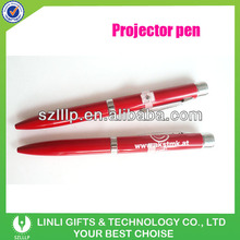 Customized Laser Logo Projector Pen For Giveaway