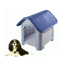 PP Plastic Sloping Roof Dog Cardboard Pet House