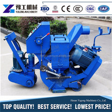 YG factory direct supply paver blocks used shot blasting machine clean width 550mm for sale