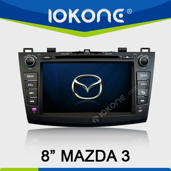 8'' Indash Car Audio Radio DVD GPS for Mazda 3 Multimedia