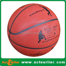 custom logo branded basketball