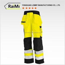 Wholesale promotional cheap reflective tape cargo pants