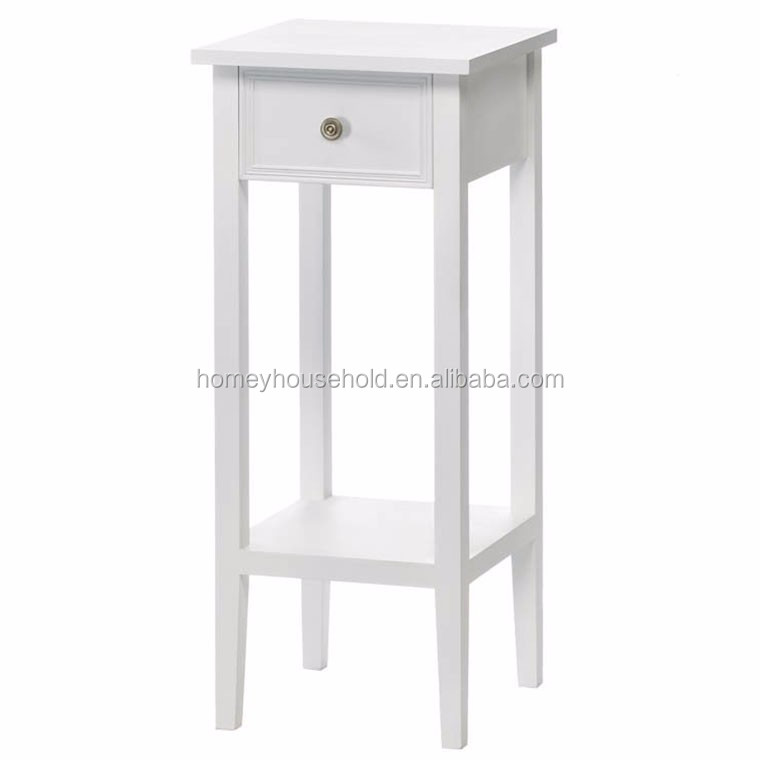 Beautiful french style shabby chic wooden plant stand white