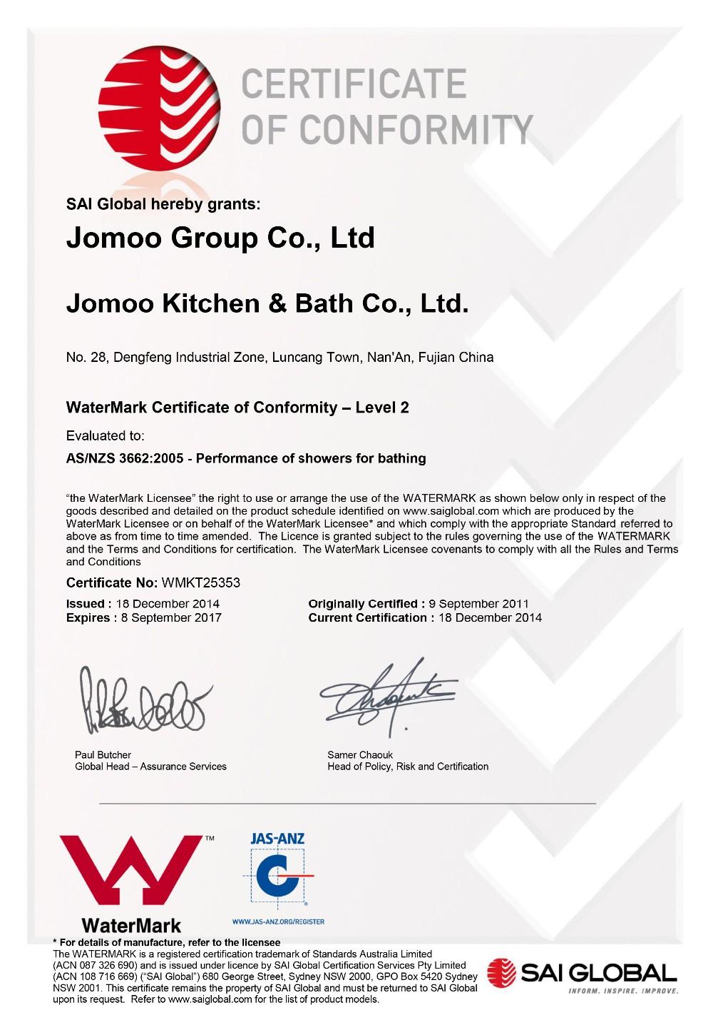 20150113Certificate WMKT25353 20150113(1)-1