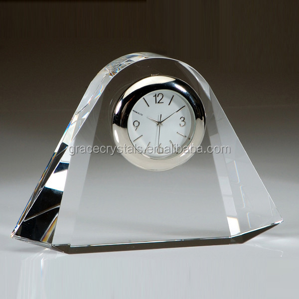 Crystal advertising gifts souvenir gift clock