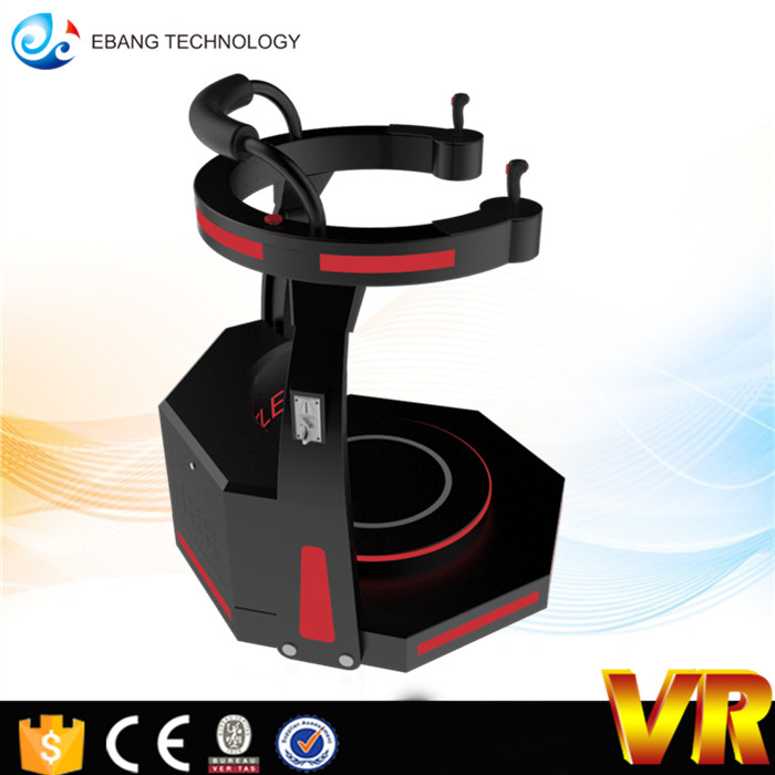 Indoor Equipment 9d vr shooting game machine for shopping mall