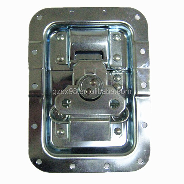 Zinc plated case hardwares btterfly lock for flight case