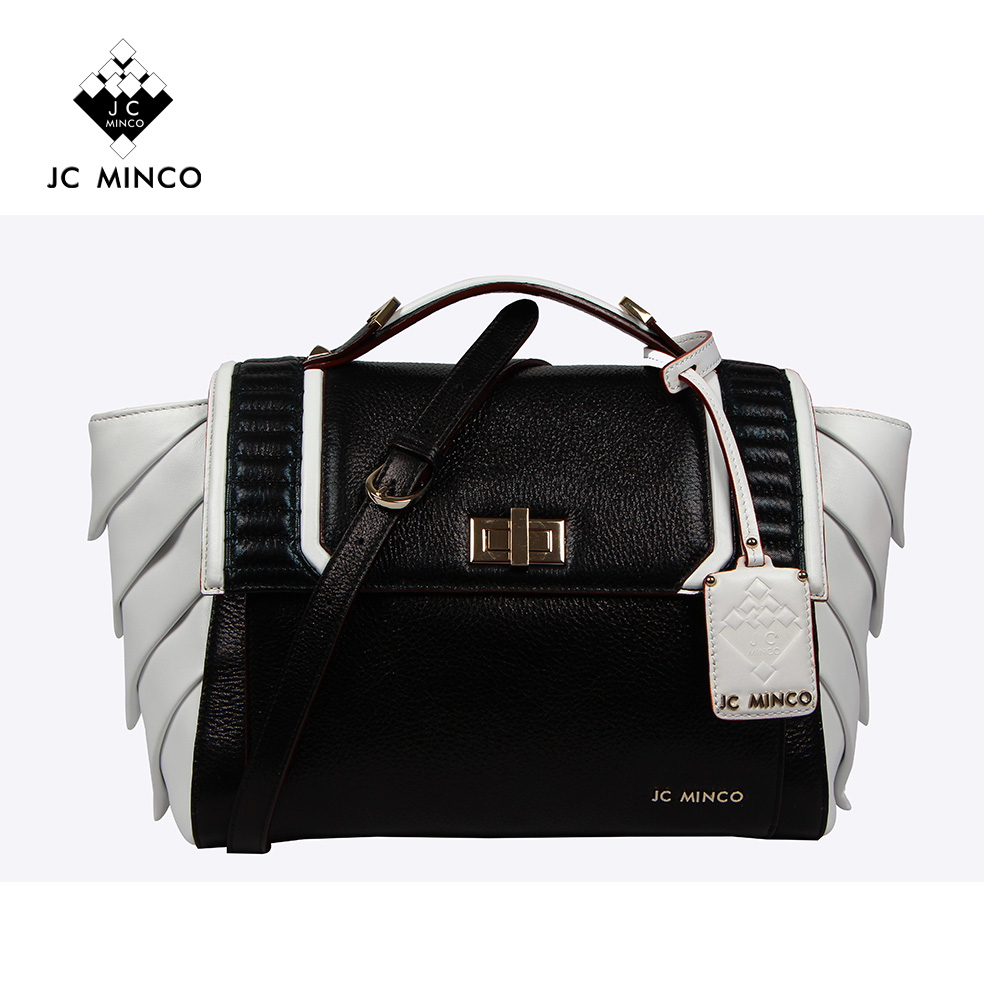 Characteristics fashion brand italian style genuine leather business women office lady hand bag