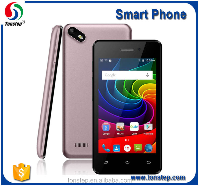 4.0 inch SC7731C 480*800, android 5.1, 3G smart mobile phone for sale