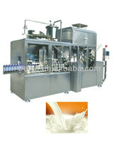 long shelf life milk filling machine for gable top carton