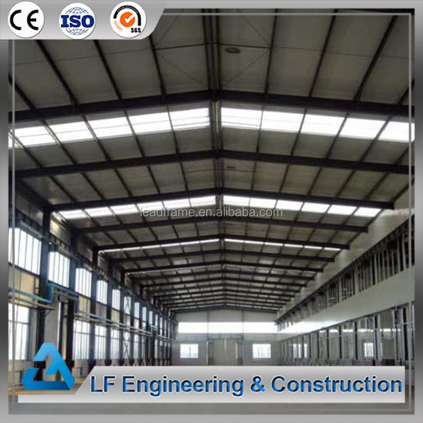 Pre engineered steel buildings low cost warehouse