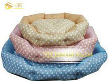 Cute cat bed 100% polyester fabric pet carrier