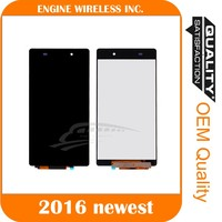 Top quality digitizer complete low prices china mobile phone lcd for sony xperia z2,for sony xperia z2 spare parts lcd