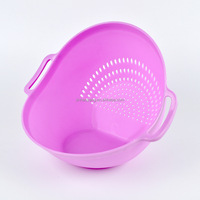 Fruits And Vegetables Plastic Strainer Draining