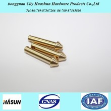 Custom Electronic Brass CNC Machining, CNC Precision Turned Parts for Auto Motorcycle