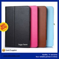 leather flip cover case for lenovo a3500 wholesale