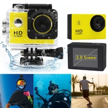 New arrival mini 2-inch Screen 1080P Mini Cam Waterproof 30M Action Camera