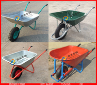 strong wheelbarrow, big wheel barrow