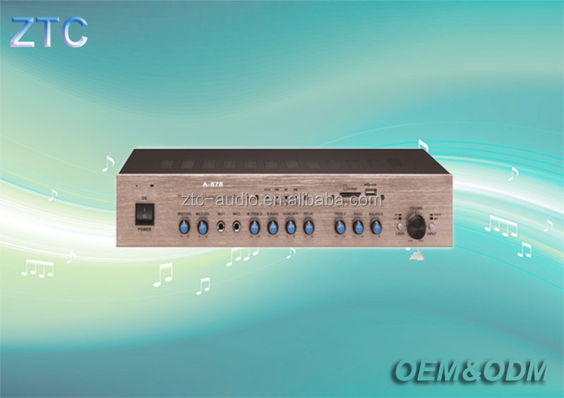 Proffessional Power audio amplifIer for home theatre