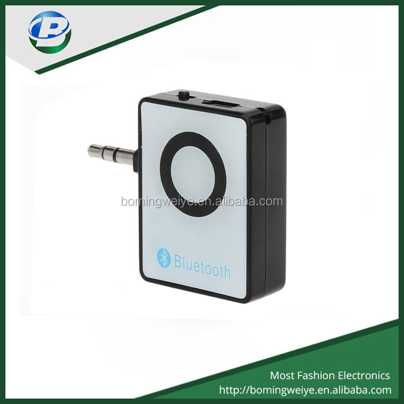 factory price Bluetooth music receiver with 3.5mm audio adapter with wall charger