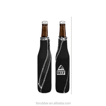 Customized OEM printing SBR neoprene wine bottle sleeves