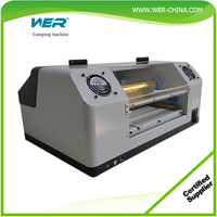 CE approved Plateless Automatic digital gold hot foil printer machine