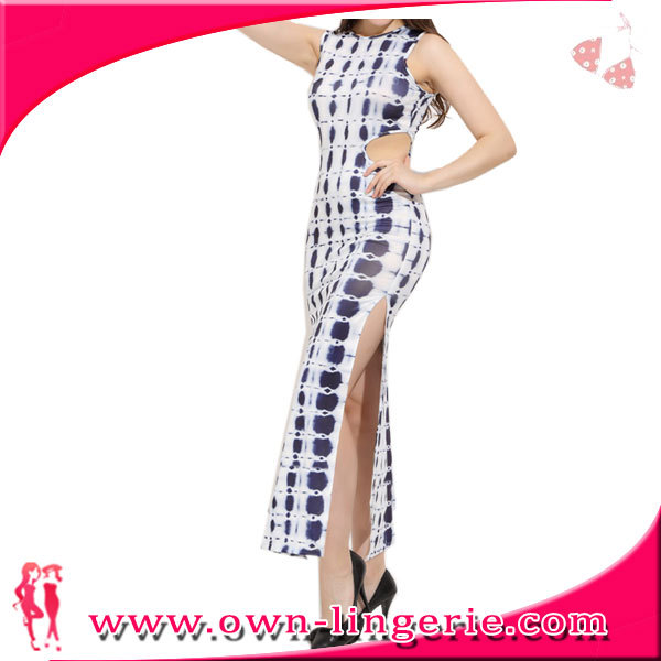Chinese manufacture evening dress for women,classical elegant white dresses for women