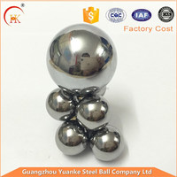 "Yuanke Favorable Price 12.7mm,1/2"" Stainless Steel Ball For Instruments/game machine"