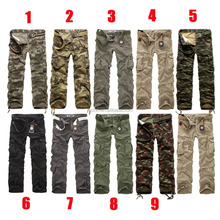 Men's cotton polyester ripstop camouflage BDU pants