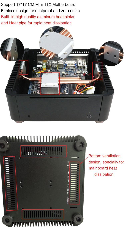 horizontal computer case