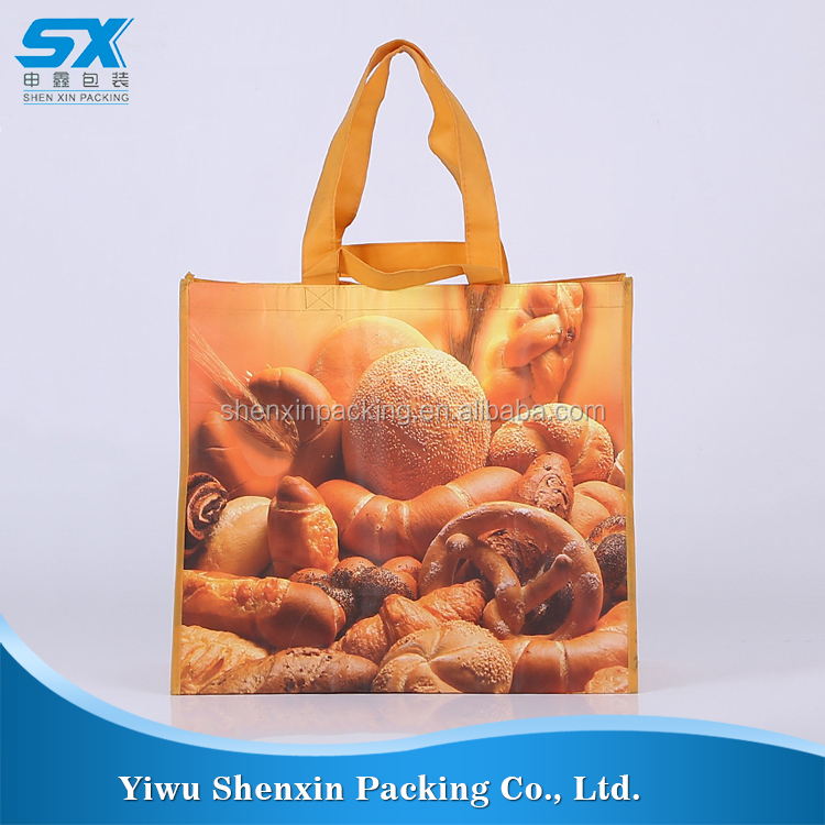 China Manufacturer Custom Printed Shopping canvas plain tote non woven bags
