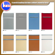 factory offer competitive price heat resistant moisture proof modern style kitchen cabinet door