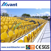 Anly Outdoor Metal Bleacher /Portable Grandstand for Stadium ,Arena ,Plyground etc