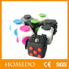 Cheap and good quality office toys customized color box blank magic fidget dice cube