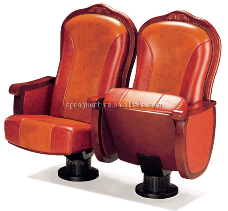 auditorium chair english movies wood church chair theater seat