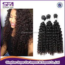 afro curl virgin human hair,brazilian human hair extension