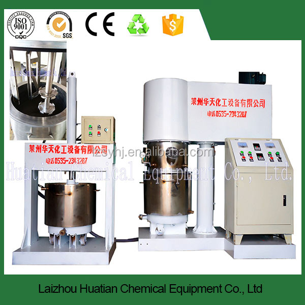 Can be customized Double Planetary Power Mixer/ Vacuum Mixing Machine for Battery Use