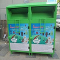 custom made clothes and shoes donation bin for sales