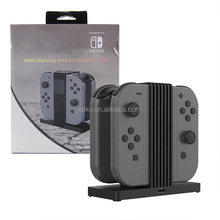 Hot Selling Products Controllers Charging Stand Dock Station Gamepad Power Charger for Nintendo Switch Joy-Con