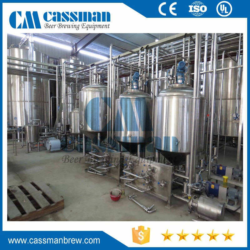 New condition machine to make craft beer 1500l for export