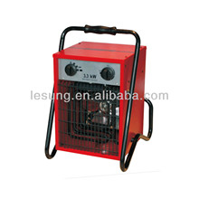 Electric Industrial fan heater 3KW/5kw /9kw /12KW/15KW waterproof IP24 GS CE EMC