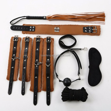 TOP Sale Many Patterns Luxury SM Restraints Bndage Kit for Sex Product