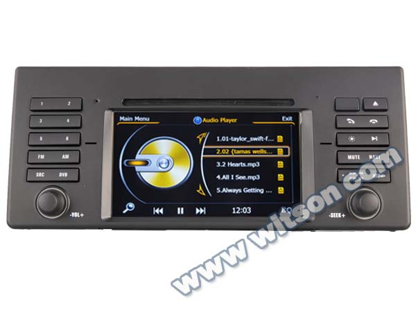 Witson radio tape recorder for BMW 5 series E39