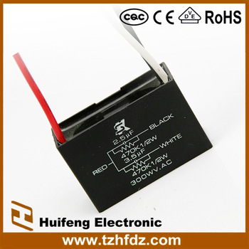 HF CBB61 AC motor Fan Wire Capacitors