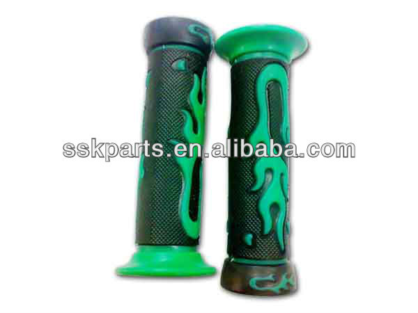 HAISSKY piezas de motor de la motocicleta LED flash motorcycle handle grip