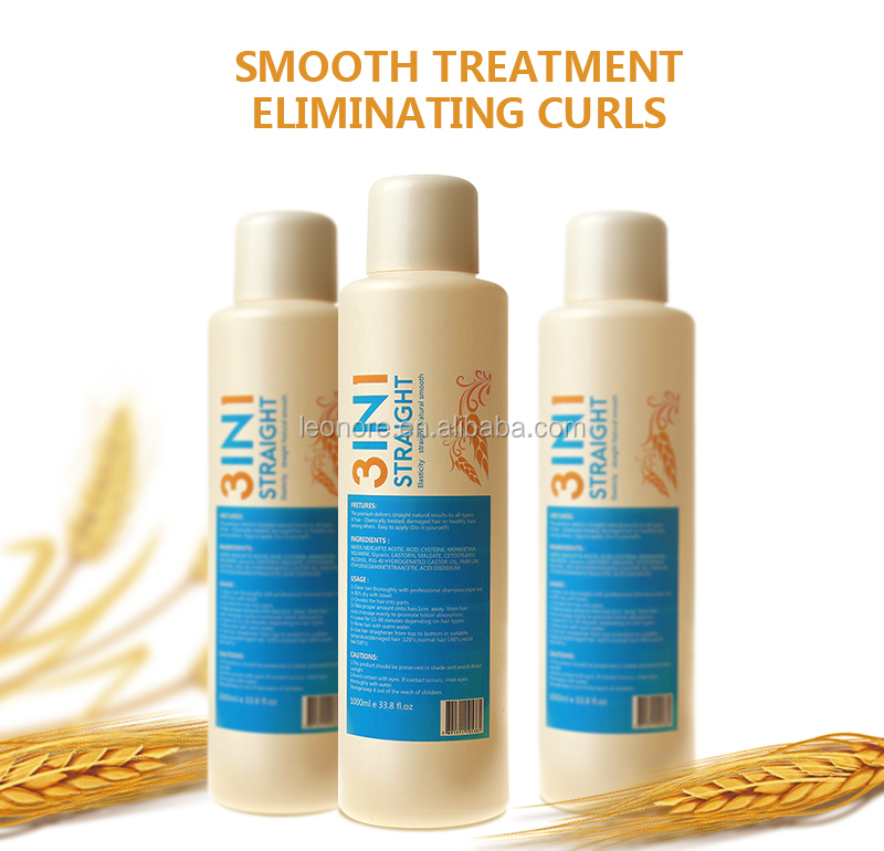 Permanent Hair Straightening Treatment Function and Straightening Use hair rebonding cream
