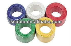THW wire CCA conductor PVC insulated 75C electrical wire