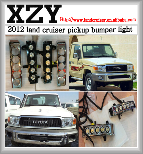 daytime lights for 2007 toyota pick up,front DRL led lights for toyota land cruiser pick up 2007